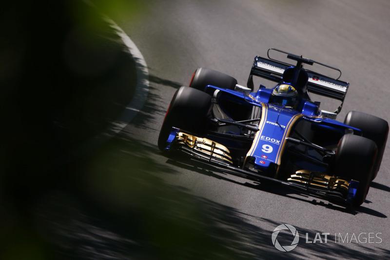 16. Marcus Ericsson, Sauber