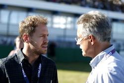 Sebastian Vettel e il Dr. Mario Theissen