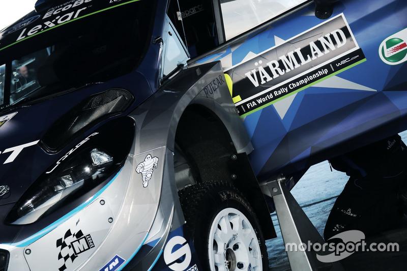 Detalle de Ott Tänak, Martin Järveoja, M-Sport, Ford Fiesta WRC