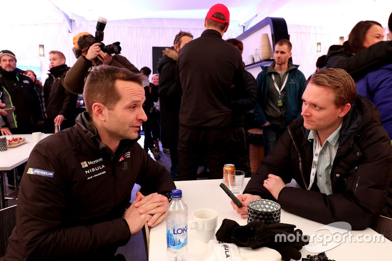 Juho Hänninen, Toyota Racing con los medios
