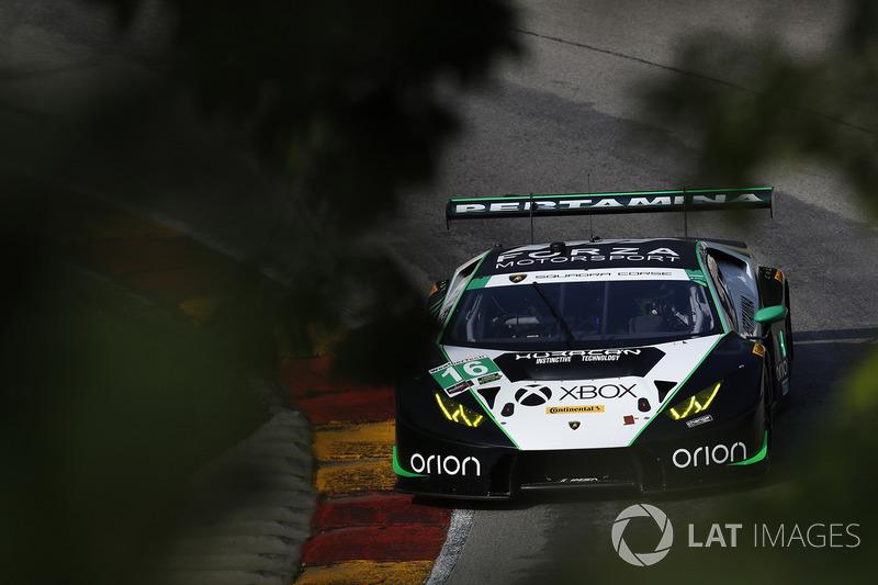 #16 Change Racing Lamborghini Huracan GT3: Корі Льюїс, Йерун Мул
