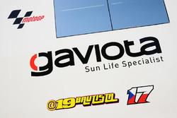 Un logo d'Alvaro Bautista, Aspar MotoGP Team
