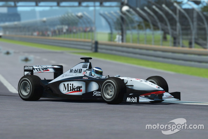McLaren MP4/13 at Classic McLarens in rFactor 2 - eSports Photos
