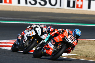 Marco Melandri, Aruba.it Racing-Ducati SBK Team, Loris Baz, Althea Racing