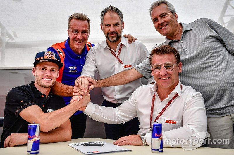 Brad Binder KTM Tech3 announcement