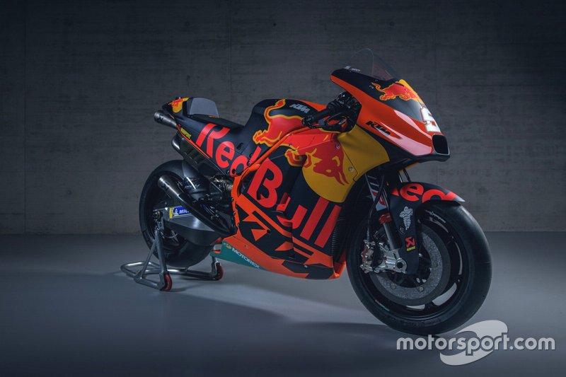 La moto di Johann Zarco, Red Bull KTM Factory Racing