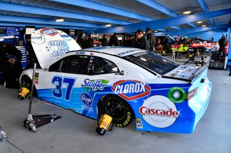 Chris Buescher, JTG Daugherty Racing, Chevrolet Camaro Kroger Speed Up Your Cleanup