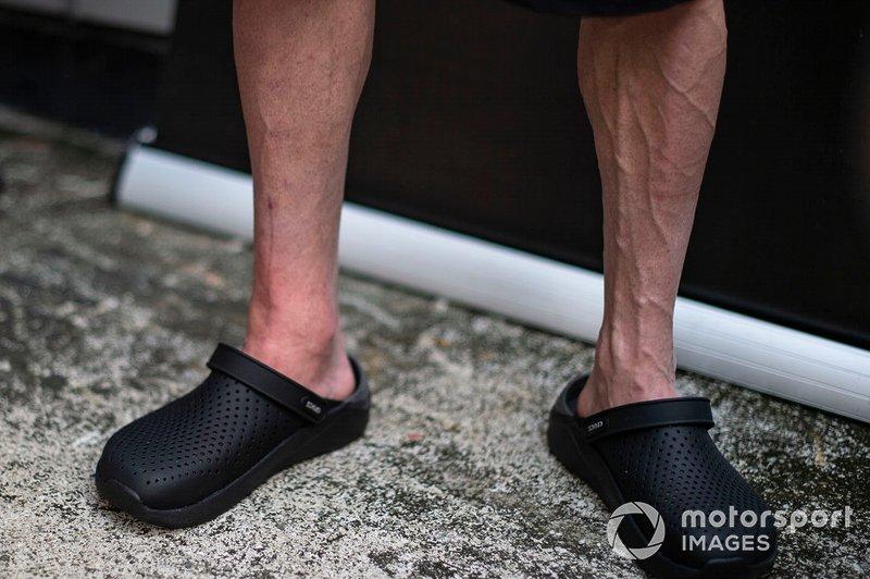 Cal Crutchlow, LCR Honda Castrol con una pierna rota