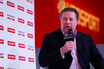 Zak Brown on the Autosport Stage
