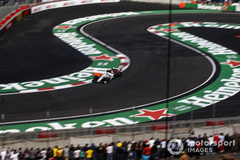 P7: Charles Leclerc, Alfa Romeo Sauber C37