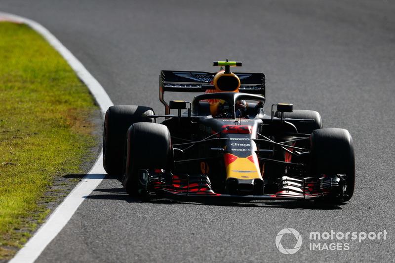 Horner habla con Verstappen