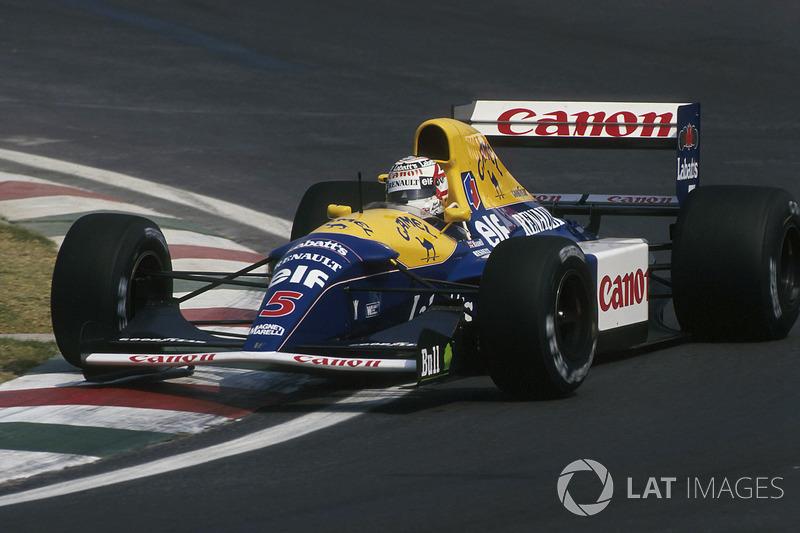 La saison 1992 de Nigel Mansell en images