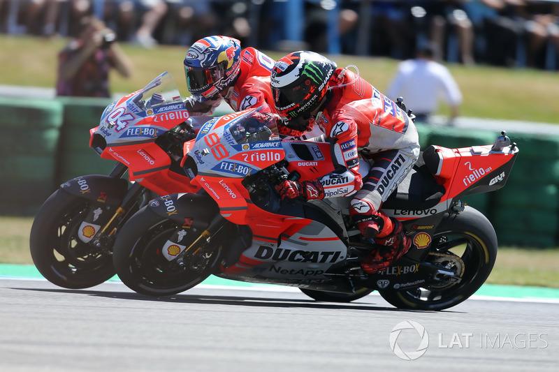 Andrea Dovizioso foi o melhor da Ducati na Holanda
