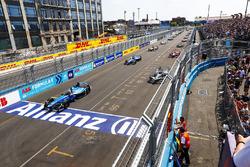 Sébastien Buemi, Renault e.Dams, on Pole Position at the start of the race