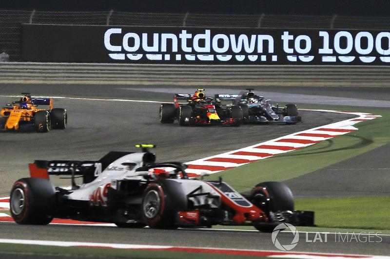 Bahreïn - Max Verstappen/Lewis Hamilton (course)