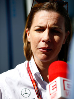 Claire Williams, directrice d'équipe adjointe, Williams Martini Racing