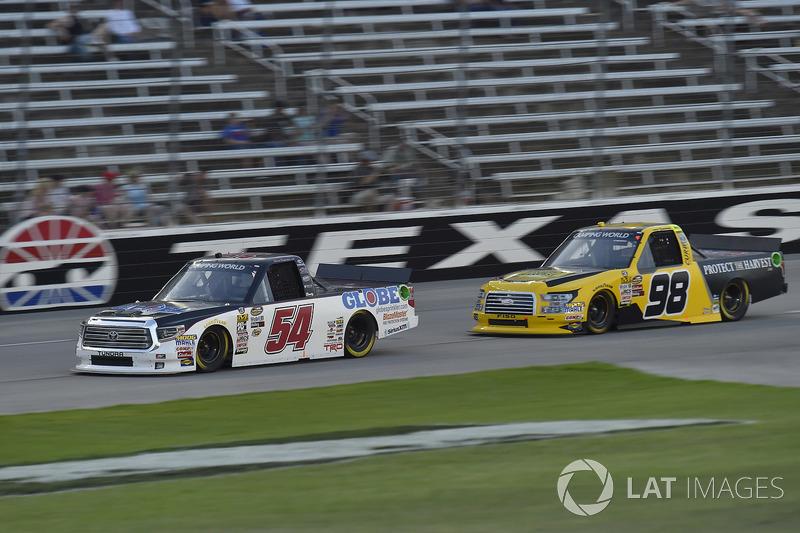 Chris Eggleston, DGR-Crosley, Toyota Tundra GlobeSprinkler.com / H2O Fire Protection, Inc, Grant Enfinger, ThorSport Racing, Ford F-150