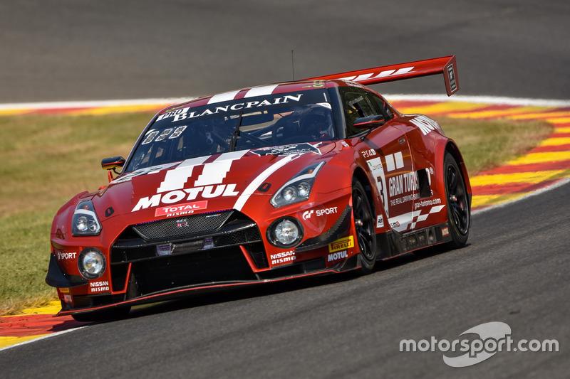 #23 GT SPORT MOTUL Team RJN Nissan GT-R Nismo GT3: Лукас Ордонес