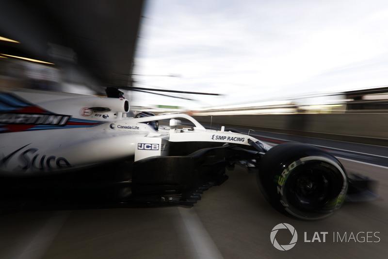 Ленс Стролл, Williams FW41