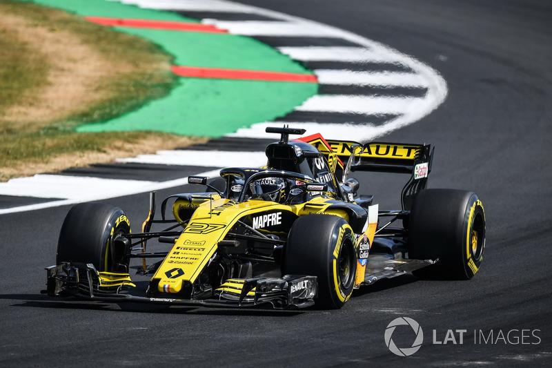 6 місце — Ніко Хюлькенберг, Renault. Умовний бал — 12,85