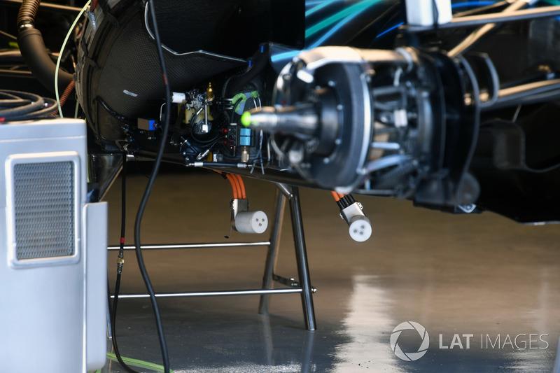 Mercedes-AMG F1 W09, részletfotó
