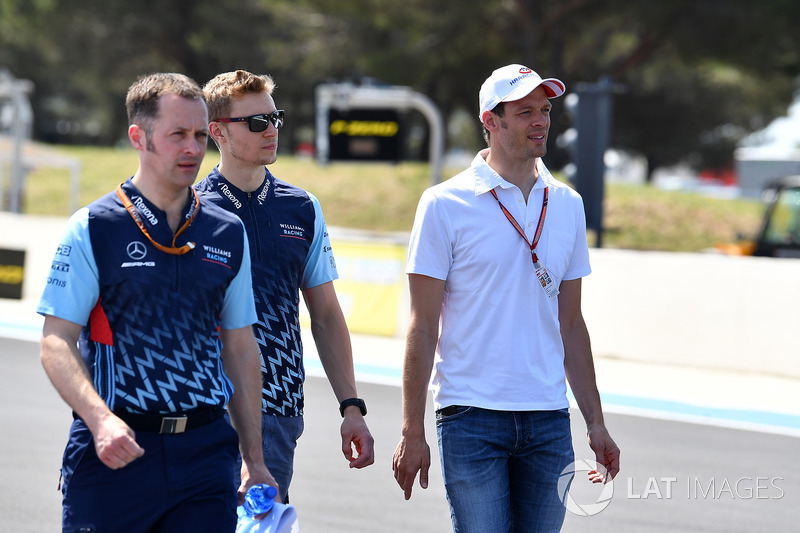 Sergey Sirotkin, Williams, dan Alex Wurz