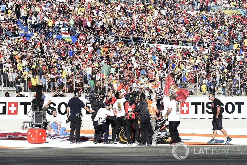 Чемпіон світу MotoGP 2017 року Марк Маркес, Repsol Honda Team