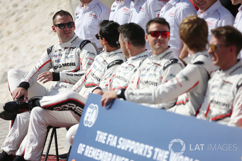 #1 Porsche Team Porsche 919 Hybrid: Nick Tandy