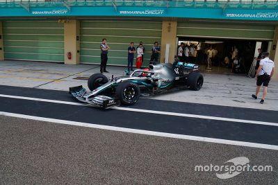 Abu Dhabi Pirelli lastik testi