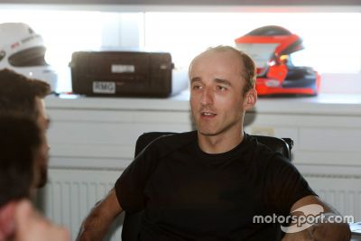 Test di Kubica BMW Motorsport Simulator