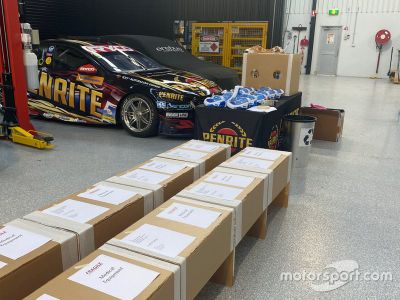 Erebus Motorsport medical equipment production
