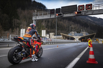 Miguel Oliveira, Red Bull KTM Factory Racing goes Gleinalmtunnel