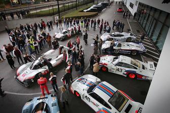 Porsche 919 Hybrid Evo en el museo Porsche