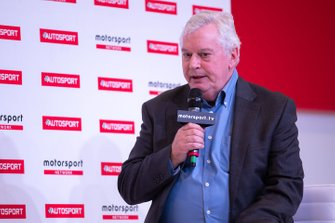 Pat Symonds on the Autosport Stage