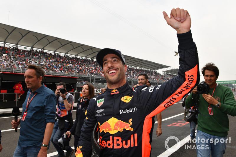 Ricciardo viert de pole-positie