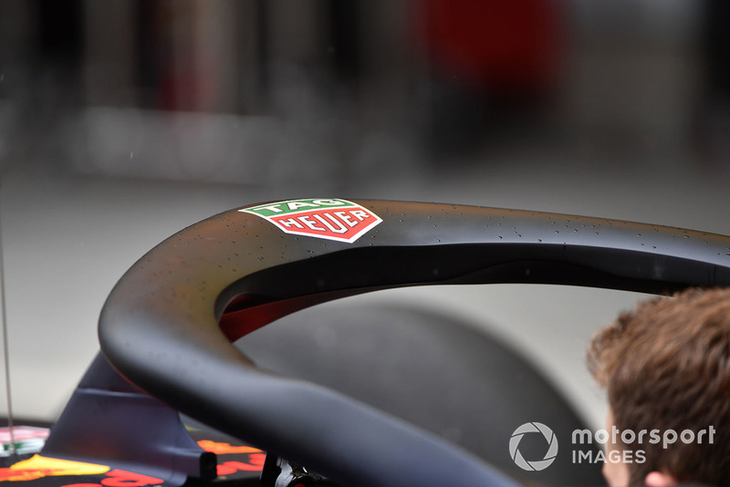 Le Halo sur la Red Bull Racing RB14