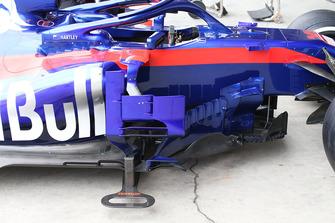 Scuderia Toro Rosso STR13 bargeboard detail