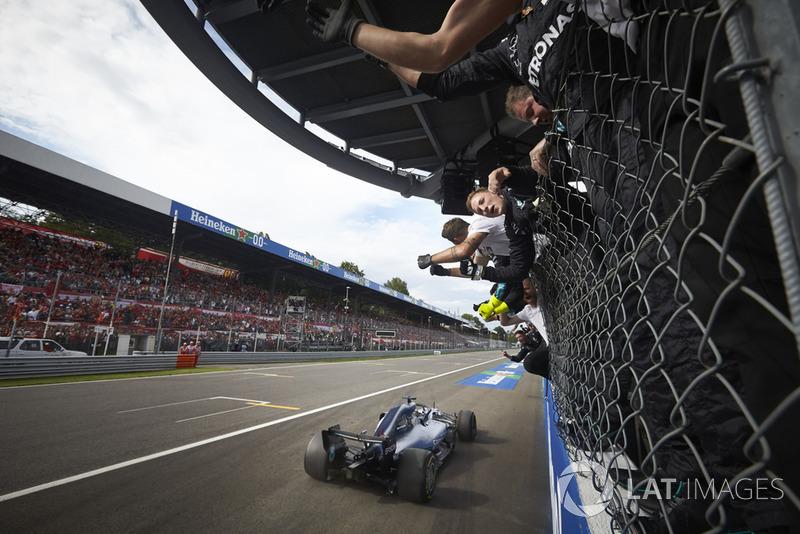 GP de Italia: Lewis Hamilton
