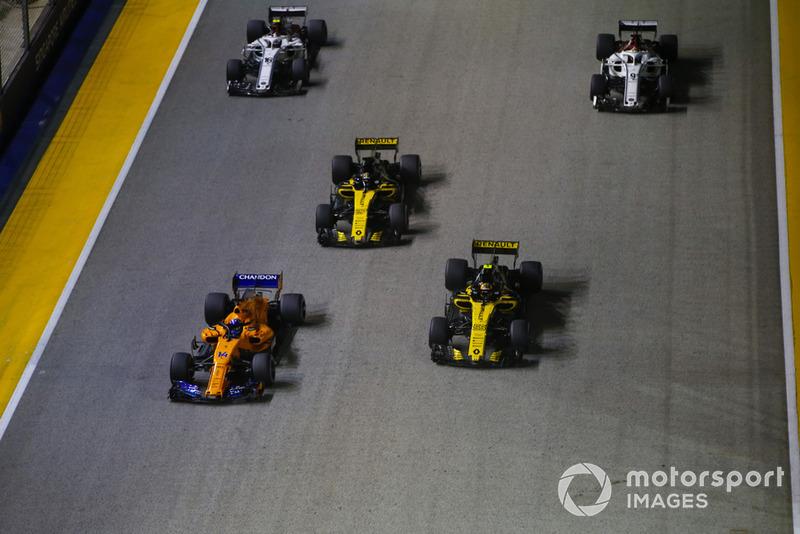 Fernando Alonso, McLaren MCL33,