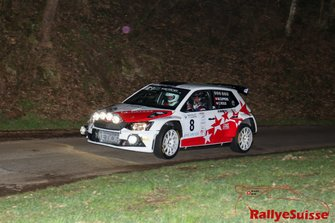 Mike Coppens, Christophe Roux, Skoda Fabia R5, D-Max Swiss