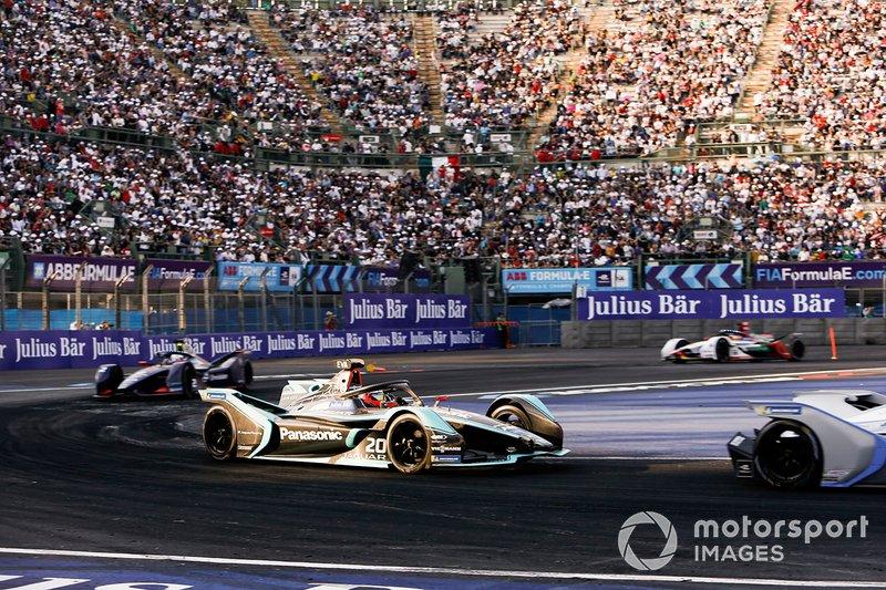 Mitch Evans, Panasonic Jaguar Racing, Jaguar I-Type 3 Sam Bird, Envision Virgin Racing, Audi e-tron FE05