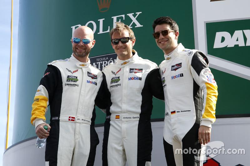 Jan Magnussen, Antonio Garcia und Mike Rockenfeller