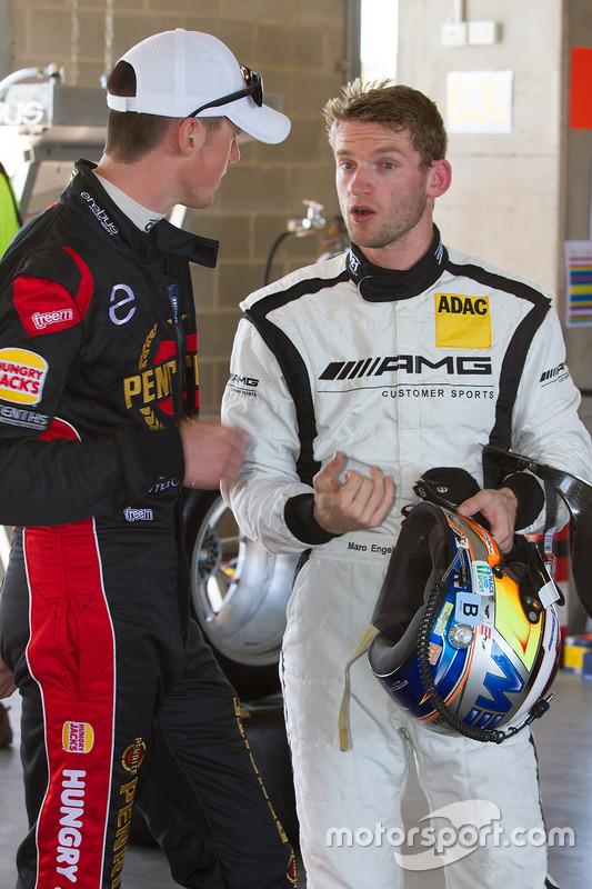 #63 Erebus Motorsport Mercedes SLS AMG GT3: Maro Engel