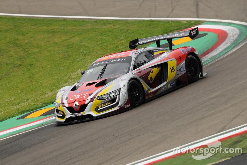 #15 Team Marc VDS, Renault RS01: Tanart Sathienthirakul, Fran Rueda