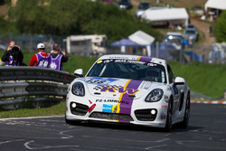 #138 Team Mathol Racing, Porsche Cayman S: Christian Eichner, Rüdiger Schicht