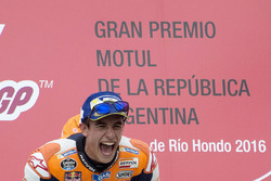 Подіум: переможець Марк Маркес, Repsol Honda Team