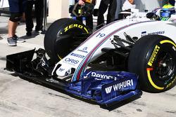 Фелипе Масса, Williams FW38 с аэрокраской на новом переднем антикрыле