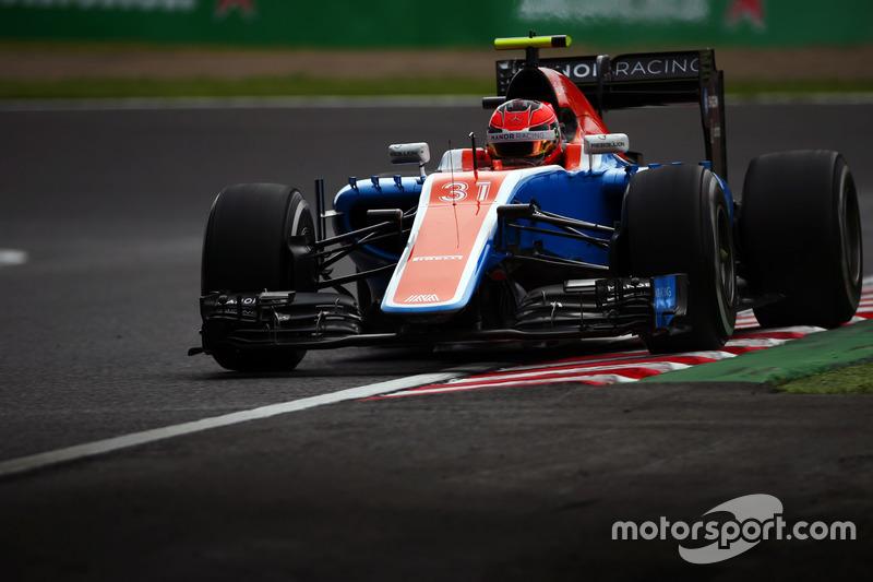 20: Esteban Ocon, Manor Racing MRT05