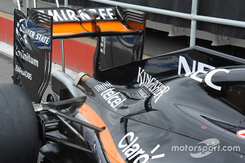 Force India VJM09 rear detail