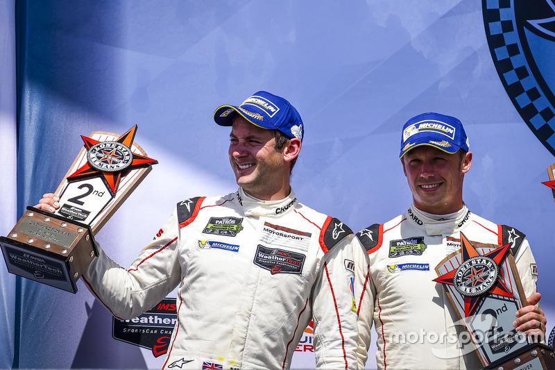 Platz 2 GTLM: #911 Porsche Team North America Porsche 911 RSR: Nick Tandy, Patrick Pilet